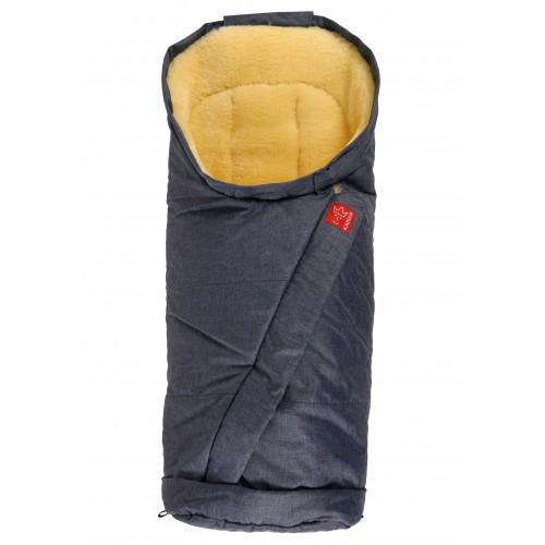 Kaiser guļammaiss Coosy džinsa krāsas